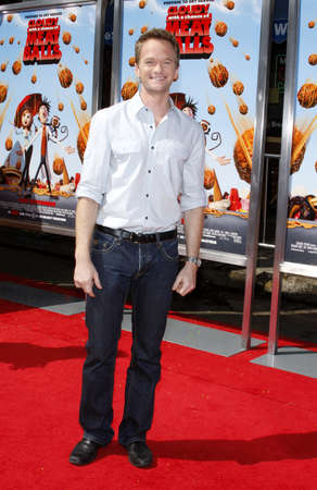 Neil Patrick Harris at the Los Angeles premiere of Cloudy With A Chance Of Meatballs held at the Mann Village Theater in Los Angeles, USA on September 12, 2009.