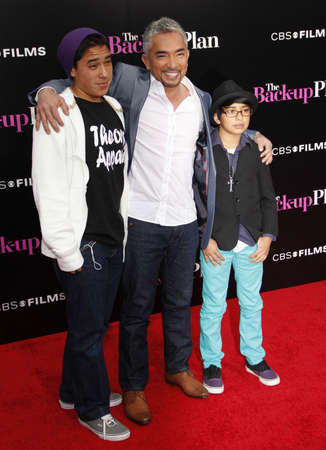 millan: Cesar Millan at the Los Angeles premiere of The Back-Up Plan held at the Regency Village Theatre in Westwood, USA on April 21, 2010.