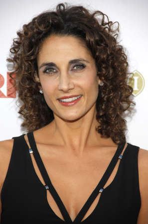 Melina Kanakaredes at the 5th Annual A Fine Romance Benefit held at the Fox Studio Lot in Hollywood, USA on May 1, 2010.