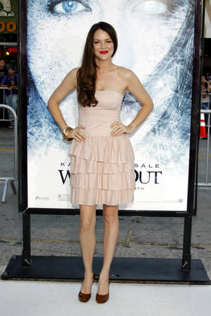 Jacinda Barrett at the Los Angeles premiere of Whiteout held at the Mann Village Theatre in Westwood, USA on September 9, 2009.