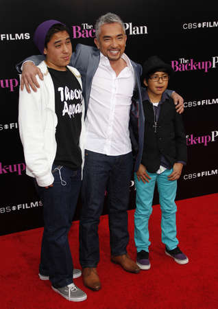 millan: Cesar Millan at the Los Angeles premiere of The Back-Up Plan held at the Westwood Village Theater in Hollywood, USA on April 21, 2010.
