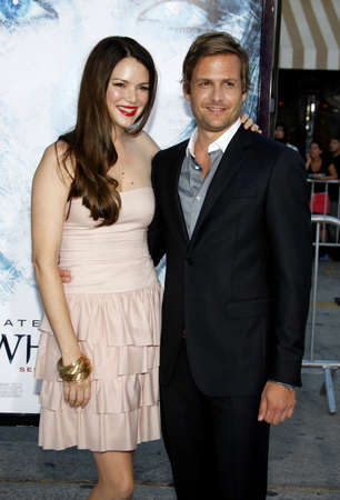 macht: Gabriel Macht and Jacinda Barrett at the Los Angeles premiere of Whiteout held at the Mann Village Theater in Los Angeles, USA on September 9, 2009.
