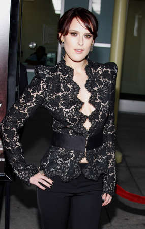 willis: Rumer Willis at the Los Angeles premiere of Sorority Row held at the ArcLight Cinemas in Hollywood, USA on September 3, 2009.