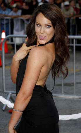 Lacey Schwimmer at the Los Angeles premiere of Whiteout held at the Mann Village Theater in Los Angeles, USA on September 9, 2009. Editorial