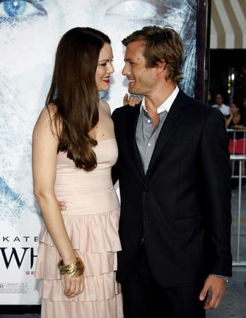 Jacinda Barrett and Gabriel Macht at the Los Angeles premiere of Whiteout held at the Mann Village Theater in Westwood, California, United States on September 9, 2009. Sajtókép