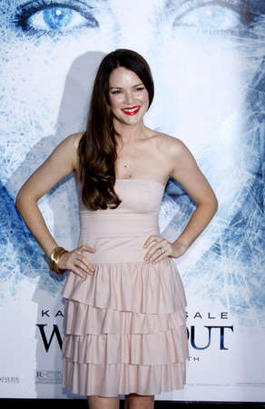 Jacinda Barrett at the Los Angeles premiere of Whiteout held at the Mann Village Theater in Los Angeles, USA on September 9, 2009.