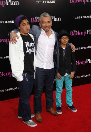millan: Cesar Millan at the Los Angeles premiere of The Back-Up Plan held at the Westwood Village Theater in Westwood, California, United States on April 21, 2010. Editorial