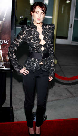 willis: Rumer Willis at the Los Angeles premiere of Sorority Row held at the ArcLight Theater in Hollywood, USA on September 3, 2009.