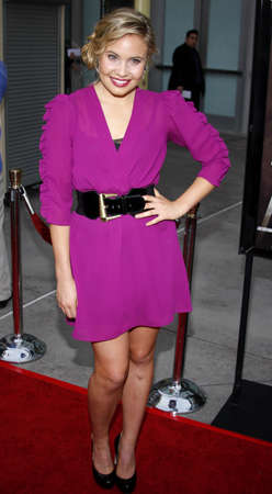 leah: Leah Pipes at the Los Angeles premiere of Sorority Row held at the ArcLight Cinemas in Hollywood, USA on September 3, 2009.