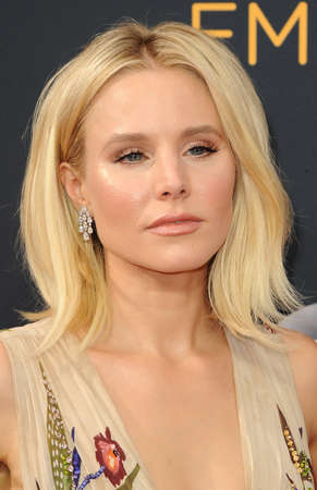 Kristen Bell at the 68th Annual Primetime Emmy Awards held at the Microsoft Theater in Los Angeles, USA on September 18, 2016. Editorial