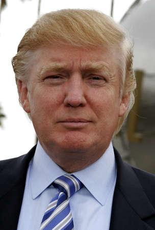 donald: Donald Trump at the sixth season casting call search for The Apprentice held at the Universal Studios in Hollywood, USA on March 10, 2006. Editorial