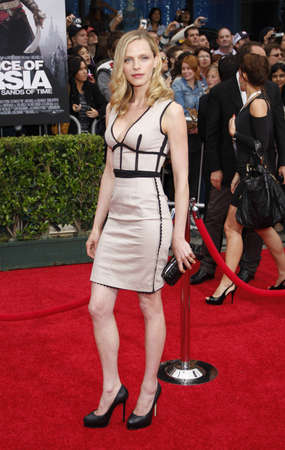 Rachel Roberts at the Los Angeles premiere of Prince Of Persia: The Sands Of Time held at the Graumans Chinese Theater in Hollywood, USA on May 17, 2010. Editorial