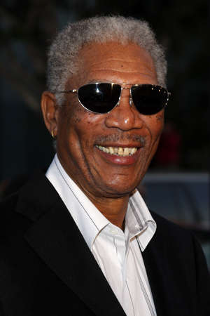 Morgan Freeman at the World premiere of 'The Bucket List' held at the ArcLight Theaters in Hollywood, USA on December 16, 2007. Editorial