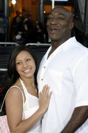 Michael Clarke Duncan at the World premiere of 'Collateral' held at the Orpheum Theatre in Los Angeles, USA on August 2, 2004. 新聞圖片