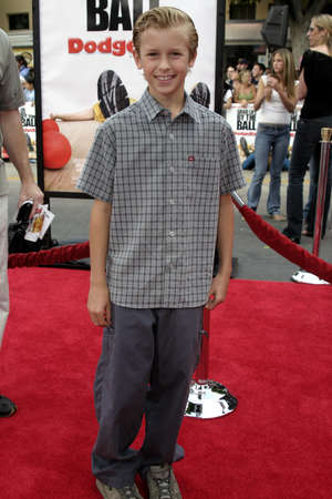 Cayden Boyd at the Los Angeles premiere of Dodgeball held at the Mann Village Theater in Westwood, USA on June 14, 2004.