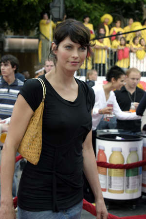 Scarlett Chorvat at the Los Angeles premiere of Dodgeball held at the Mann Village Theater in Westwood, USA on June 14, 2004.