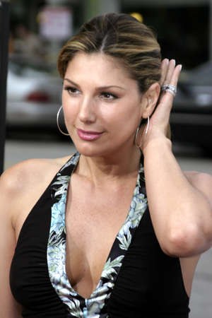 Daisy Fuentes at the Los Angeles premiere of The Notebook held at the Mann Village Theatre in Westwood, USA on June 21 2004.