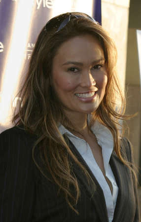 Tia Carrere at the Opening Night of the 2004 Los Angeles Film Festival and the Los Angeles Premiere of 'Garden State' held at the Arclight Cinema in Hollywood, USA on June 17, 2004. Editorial