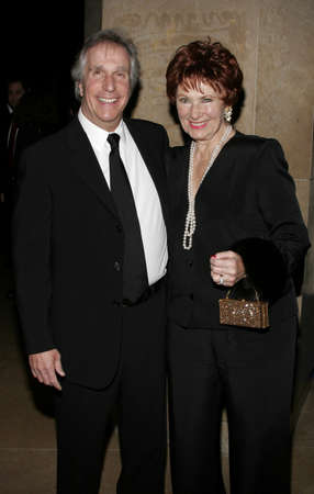 marion: Henry Winkler and Marion Ross at the 56th Annual ACE Eddie Awards held at the Beverly Hilton hotel in Beverly Hills, USA on February 19, 2006. Editorial