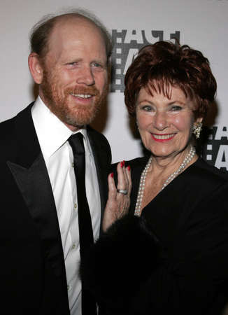 Ron Howard and Marion Ross at the 56th Annual ACE Eddie Awards held at the Beverly Hilton hotel in Beverly Hills, USA on February 19, 2006.