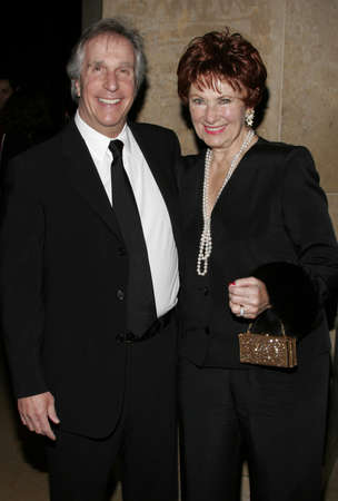 marion: Henry Winkler and Marion Ross at the 56th Annual ACE Eddie Awards held at the Beverly Hilton Hotel in Beverly Hills, USA on February 19, 2006.