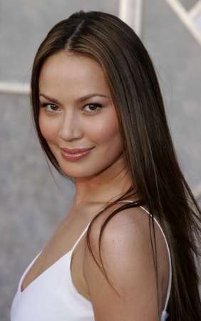 bloodgood: Moon Bloodgood at the World premiere of Eight Below held at the El Capitan Theater in Hollywood, USA on February 12, 2006. Editorial