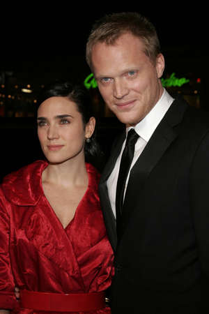 jennifer: Jennifer Connelly and Paul Bettany at the World premiere of Firewall held at the Graumans Chinese Theatre in Hollywood, USA on February 2, 2006 . Editorial