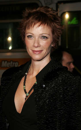 Lauren Holly at the World premiere of Firewall held at the Graumans Chinese Theatre in Hollywood, California, United States on February 2, 2006.