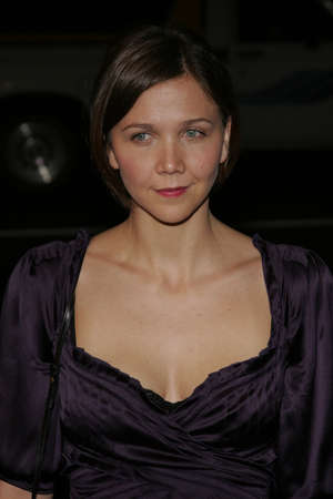 Maggie Gyllenhaal at the World premiere of 'Jarhead' held at the Arclight Cinemas in Hollywood, USA on October 27, 2005.