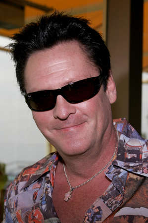 Michael Madsen at the Bloodrayne AFM Press Conference at the Loews Hotel in Santa Monica, California, United States on November 2, 2005. Editorial