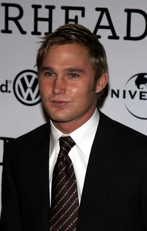 Brian Geraghty at the World premiere of 'Jarhead' held at the Arclight Cinemas in Hollywood, USA on October 27, 2005. Editorial