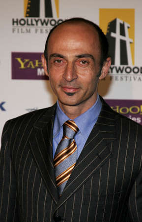 Shaun Toub at the 2005 Hollywood Film Festival Awards Gala Ceremony held at the Beverly Hilton in Beverly Hills, USA on October 24, 2005.