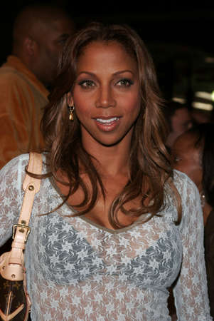Holly Robinson Peete at the Los Angeles premiere of Get Rich or Die Tryin held at the Graumans Chinese Theatre in Hollywood, USA on November 3, 2005.
