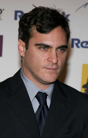 joaquin: Joaquin Phoenix at the 2005 Hollywood Film Festival Awards Gala Ceremony held at the Beverly Hilton Hotel in Beverly Hills, USA on October 24, 2005.