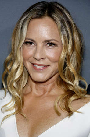 Maria Bello at the Los Angeles premiere of Amazons Goliath held at the London Hotel in West Hollywood, USA on September 29, 2016. Editorial