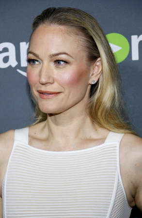 Sarah Wynter at the Los Angeles premiere of Amazons Goliath held at the London Hotel in West Hollywood, USA on September 29, 2016. Editorial