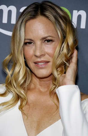 west hollywood: Maria Bello at the Los Angeles premiere of Amazons Goliath held at the London Hotel in West Hollywood, USA on September 29, 2016. Editorial