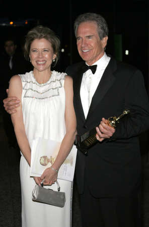 Annette Bening and Warren Beatty at the 2007 Paramount Pictures Golden Globe Award After-Party held at the Beverly Hilton Hotel in Beverly Hills, USA on January 15, 2007.
