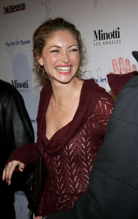 Rebecca Gayheart at the Art of Elysium Presents Russel Young fame, shame and the realm of possibility held at the Minotti Los Angeles in West Hollywood, USA on November 30, 2005.