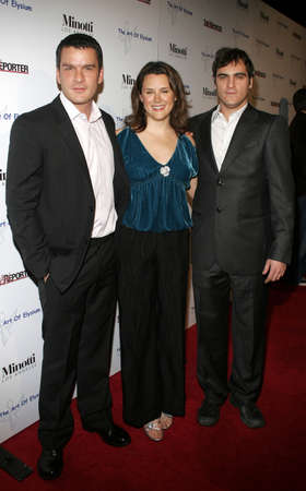 joaquin: Balthazar Getty, Joaquin Phoenix and Jennifer Howell at the Art of Elysium Presents Russel Young fame, shame and the realm of possibility held at the Minotti Los Angeles in West Hollywood, USA on November 30, 2005.