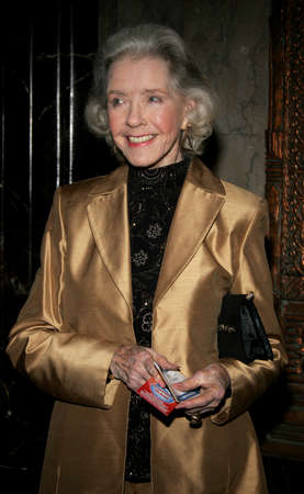 hollywood christmas: Marsha Hunt at the opening of stage musical version of Irving Berlins White Christmas held at the Pantages Theatre in Hollywood, California United States on November 28, 2005. Editorial