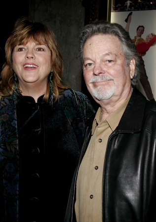 HOLLYWOOD, CALIFORNIA. November 28, 2005. Russ Tamblyn attends the Red carpet celebrity opening of stage musical version of Irving Berlins White Christmas at the Pantages Theatre in Hollywood, California United States.