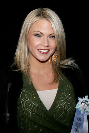 Emily Harper at the 2005 Hollywood Christmas Parade held at the Hollywood Roosevelt Hotel in Hollywood, USA on November 27, 2005.