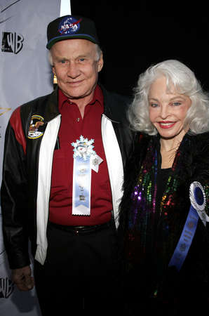 Buzz Aldrin and wife Lois at the 2005 Hollywood Christmas Parade held at the Hollywood Roosevelt Hotel in Hollywood, USA on November 27, 2005.