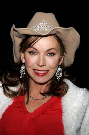 Lesley-Anne Down at the 2005 Hollywood Christmas Parade held at the Hollywood Roosevelt Hotel in Hollywood, USA on November 27, 2005.