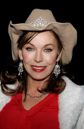 Lesley-Anne Down at the 2005 Hollywood Christmas Parade at the Hollywood Roosevelt Hotel in Hollywood, USA on November 27, 2005.