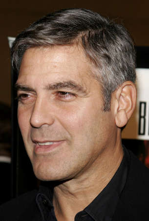 George Clooney at the Los Angeles premiere of The Good German held at the Egyptian Theatre in Hollywood, California, United States on December 4, 2006. Editorial