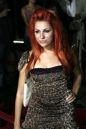 exorcist: Bonnie McKee at the Los Angeles premiere of Exorcist: The Beginning held at the Graumans Chinese Theatre in Hollywood, USA on August 18, 2004.