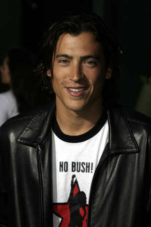 exorcist: Andrew Keegan at the Los Angeles premiere of Exorcist: The Beginning held at the Graumans Chinese Theatre in Hollywood, USA on August 18, 2004. Editorial