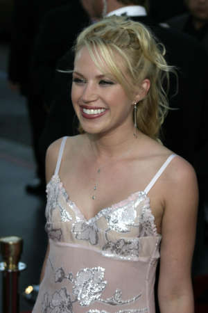 exorcist: Adrienne Frantz at the Los Angeles premiere of Exorcist: The Beginning held at the Graumans Chinese Theatre in Hollywood, USA on August 18, 2004.